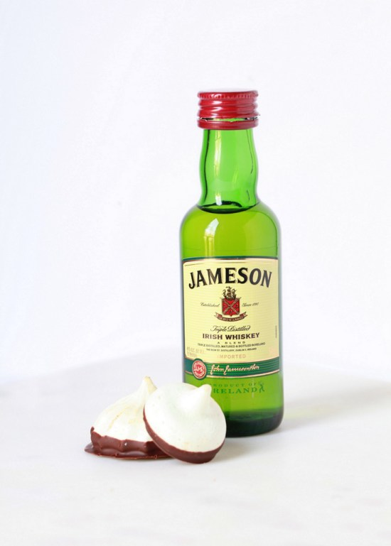 Irish Whiskey Meringue Kisses - Posh Little Designs