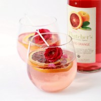 Blood Orange Rose Sangria | Posh Little Designs