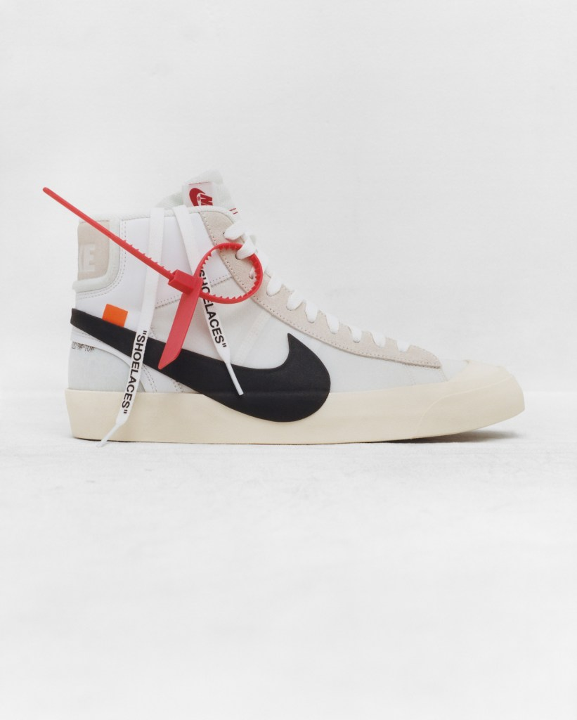 The Ten Nike Blazer x Virgil Abloh