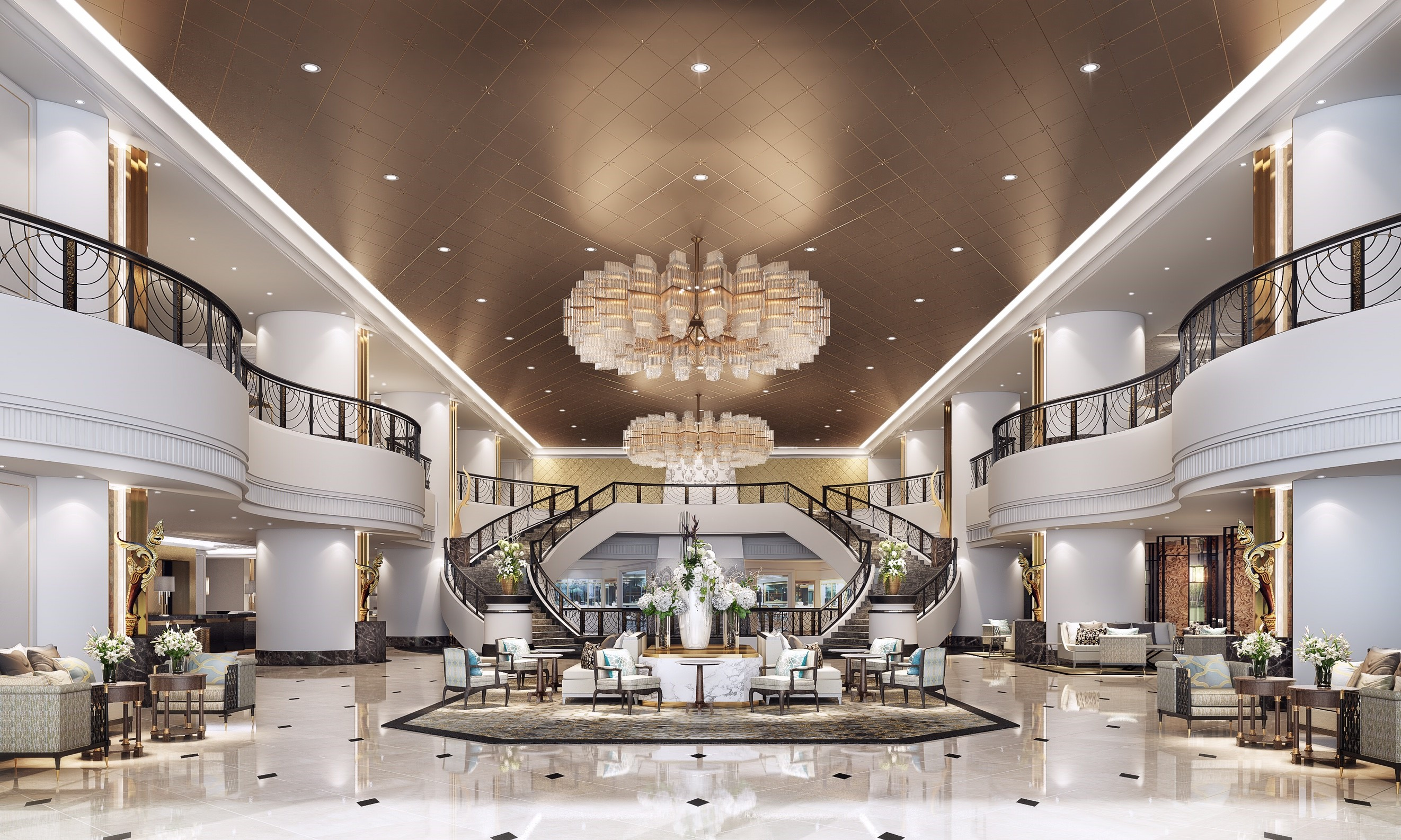 01. Lobby_The Athenee Hotel_A Luxury Collection Hotel_Bangkok
