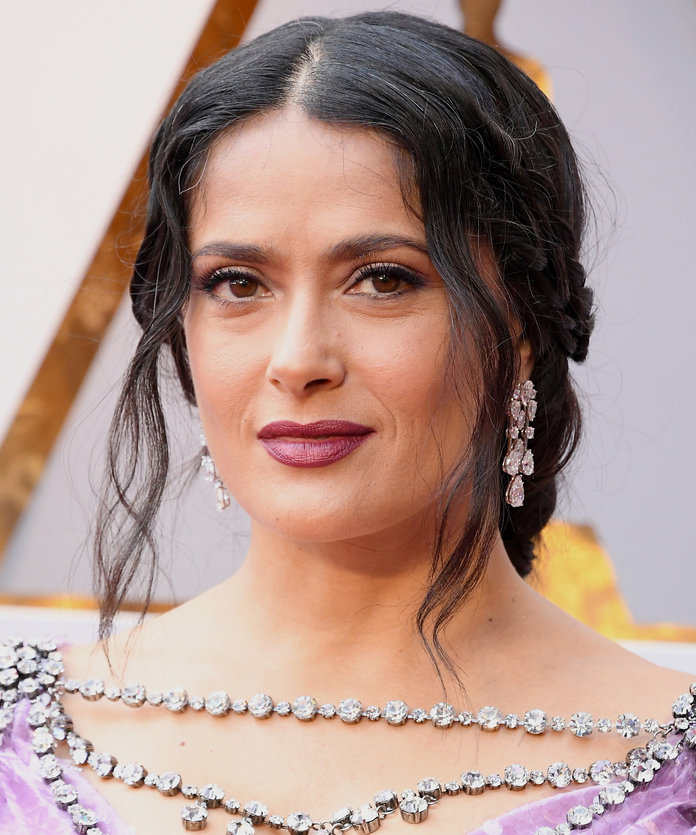 HOLLYWOOD, CA - MARCH 04:  Salma Hayek Pinault attends the 90th Annual Academy Awards at Hollywood & Highland Center on March 4, 2018 in Hollywood, California.  (Photo by Steve Granitz/WireImage)
