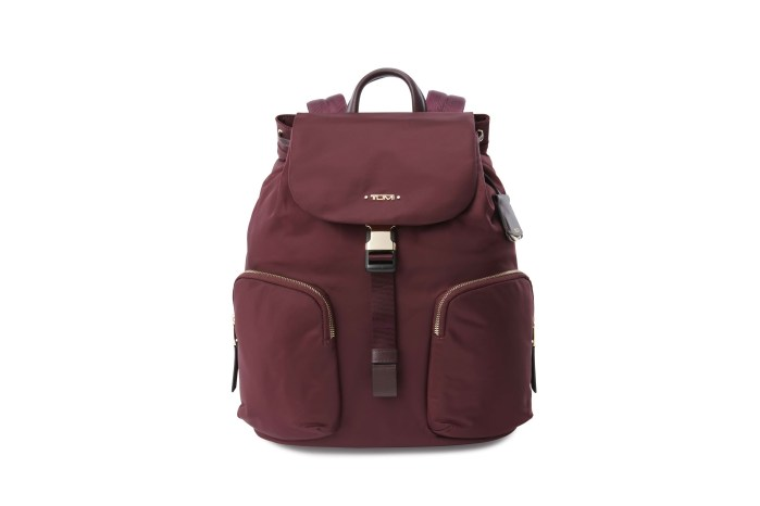TUMI VOYAGEUR COLLECTION รุ่น Rivas backpack สี Maroon
