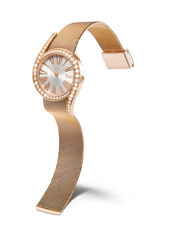 Limelight Gala Milanese gold watch_2