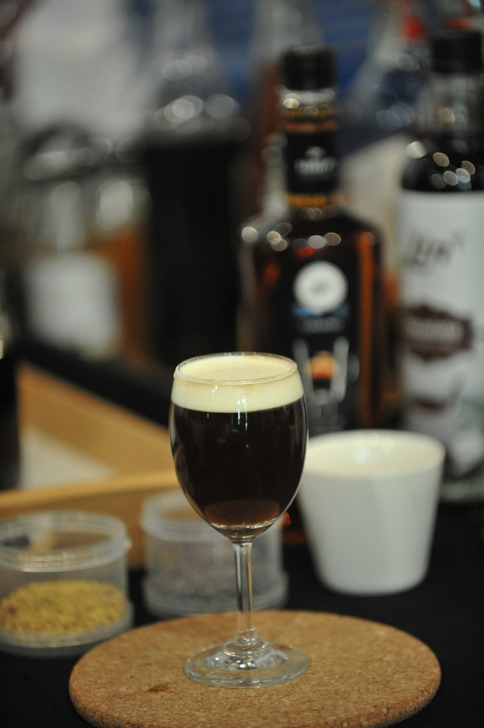 009 Signature drink เมนู Original Irish Coffee