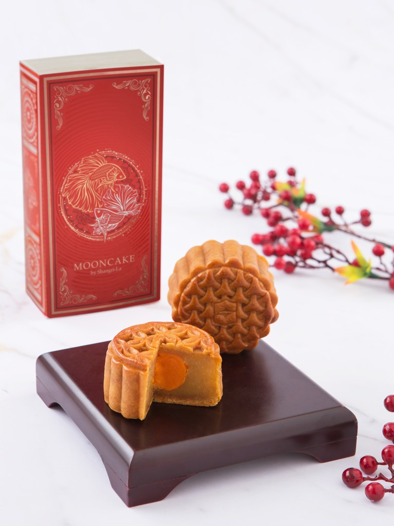 01.1.Mid-Autumn Festival 2019, Shangri-La Hotel, Bangkok Mooncakes - Duo Delight (Two-piece)
