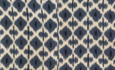 Diamond Pattern Daphne Ikat by Madeleine Weinrib Atelier