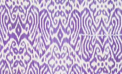 Ikat-inspired Luce fabric by Madeleine Weinrib Atelier