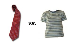 Tie and T-shirt