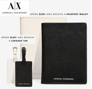 Armani Exchange free gift