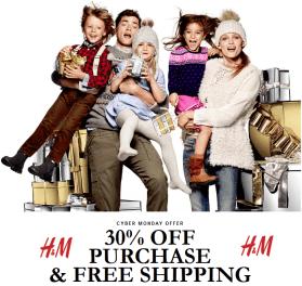 H&M 30% off