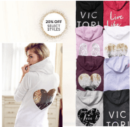 VS fleece sale