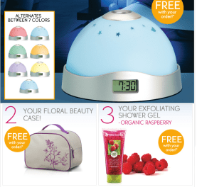 Yves Rocher free gifts
