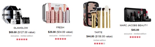 Sephora Value Gifts