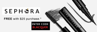 Sephora sample Marck Jacobs