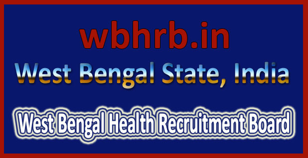 WBHRB recruitment 2016