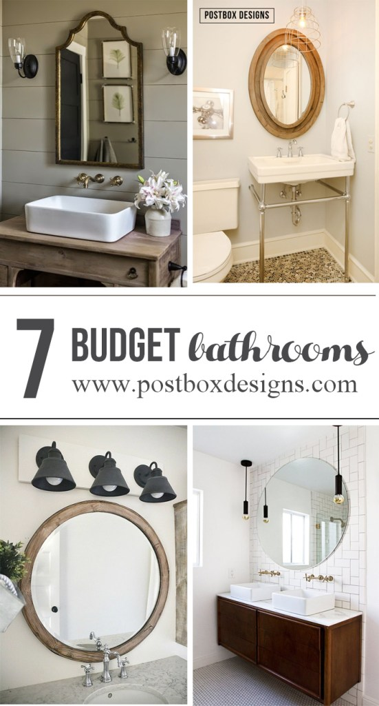 7 beautiful budget friendly bathrooms postbox designs - Budget friendly bathroom remodel ...