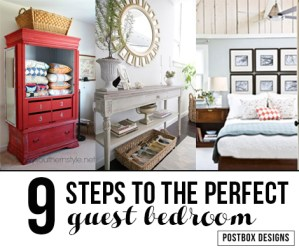 9 Steps to the Perfect Guest Bedroom They Will Never Want to Leave (Sorry!)