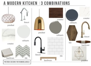 5 Must Read Tips before Designing Your Kitchen + 3 Killer Kitchen Combos (Find on Remodelaholic)