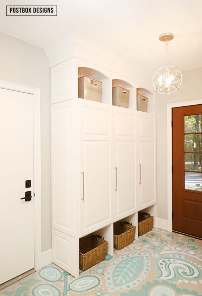 Design jumpstart week 2 free mudroom locker building for Mudroom locker design plans