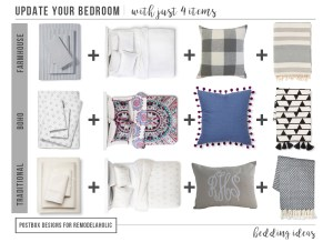Bedding Round-Up Mood Board: 16 Pieces to Update your Bedroom TODAY!
