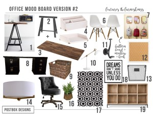 Start the School Year Off with a Bang: 2 Homework Station + Command Center Mood Boards