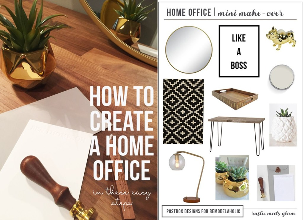 Create a Home Office by Postbox Designs E-Design