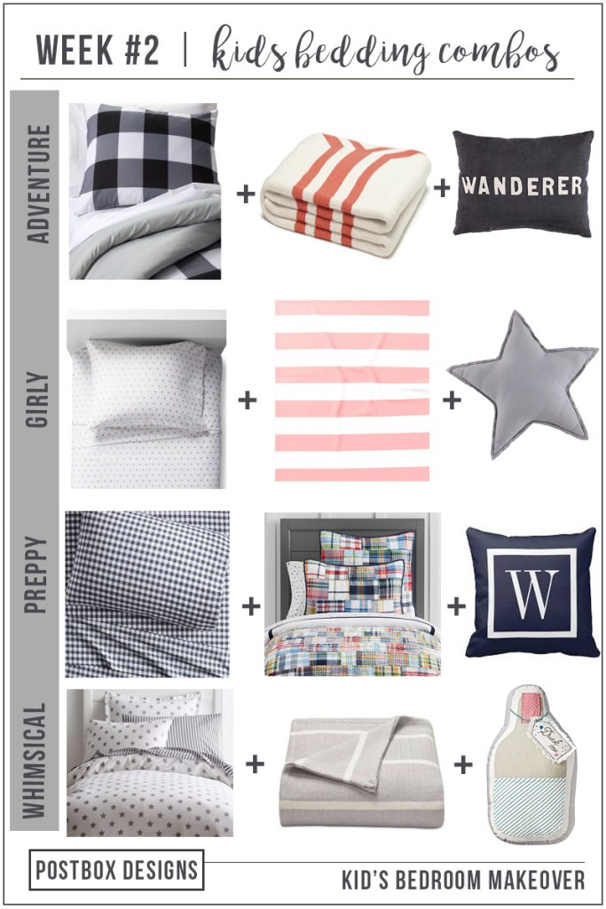 Postbox Designs E-Design: One Room Challenge Boy's Adventure Themed Room Makeover + Choose the Perfect Bedding Combo, bedroom makeover ideas, kids bedroom decor ideas
