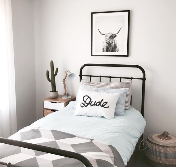 Postbox Designs E-Design: One Room Challenge Boy's Adventure Themed Room Makeover + Choose the Perfect Bedding Combo, bedroom makeover ideas, kids bedroom decor ideas. Photo Credit: Mint Interior Design