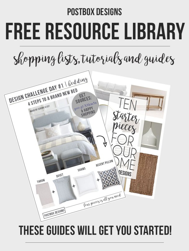 Postbox Designs Free Resource Library