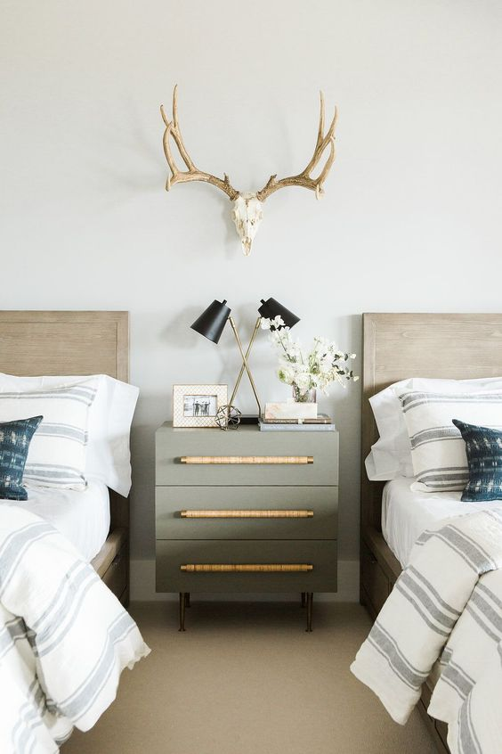 Postbox Designs Boy's Adventure Bedroom Makeover + How to Style a Nightstand, for One Room Challenge, Image Credit: Studio McGee