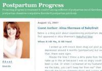 Postpartum Progress
