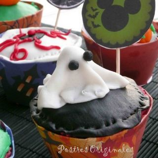 Cupcakes de Chicle para Halloween