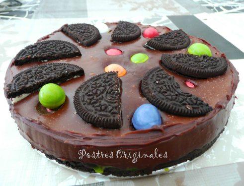 Postres con Galletas Oreo - Tarta de Chocolate con Oreos