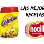 Las Mejores Recetas de Nocilla y Cola Cao