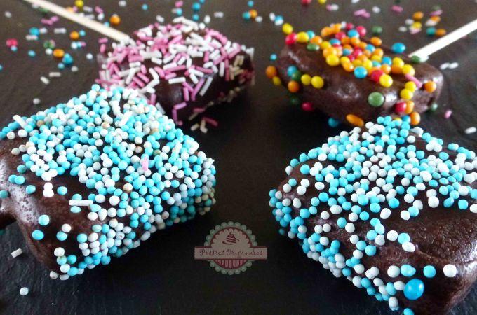 Piruletas de Queso y Chocolate