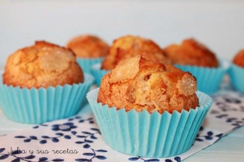 Postres con Verduras - Muffins de Zanahoria Rellenos de Crema