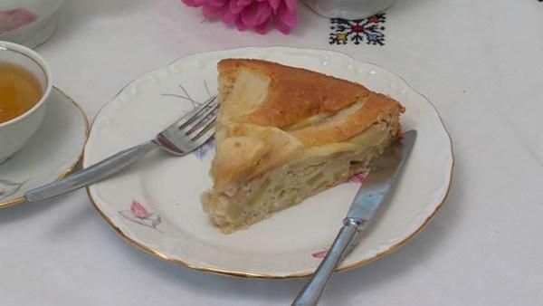 Tarta de Manzana Sin Azúcar 02