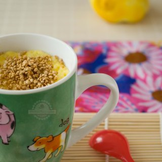 Mug Cake de Limón (Sin Gluten)
