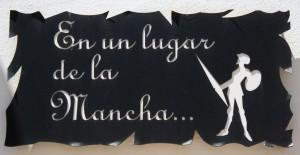 Miguel de Cervantes - Placa