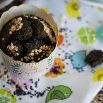 Muffins de Quinoa y Semillas de Sésamo Negro