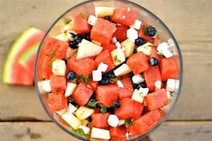 фрукты для загара