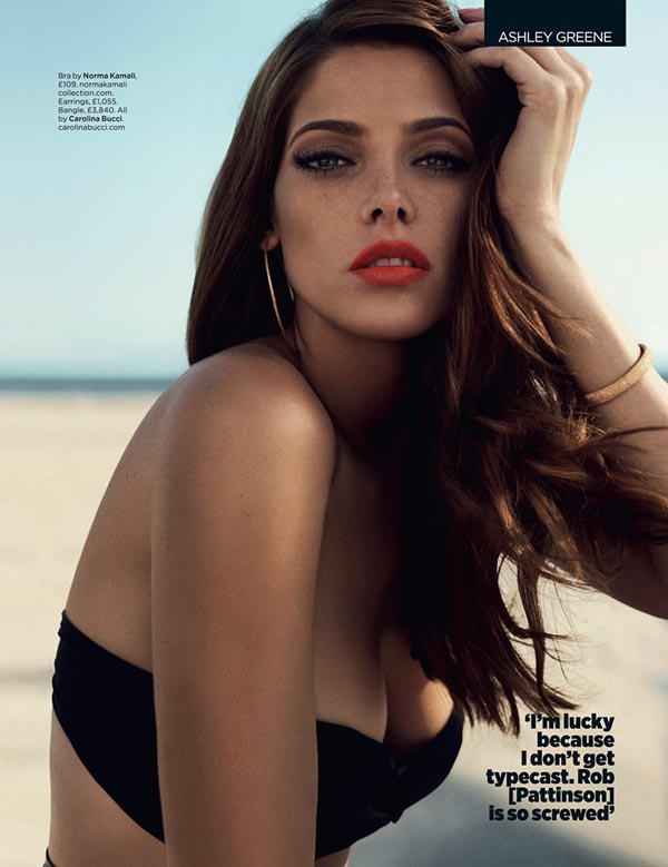 ashley greene2 Ashley Greene X GQ UK
