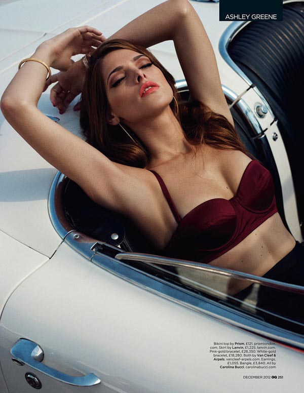 ashley greene3 Ashley Greene X GQ UK