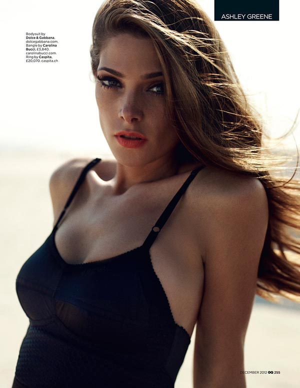 ashley greene6 Ashley Greene X GQ UK