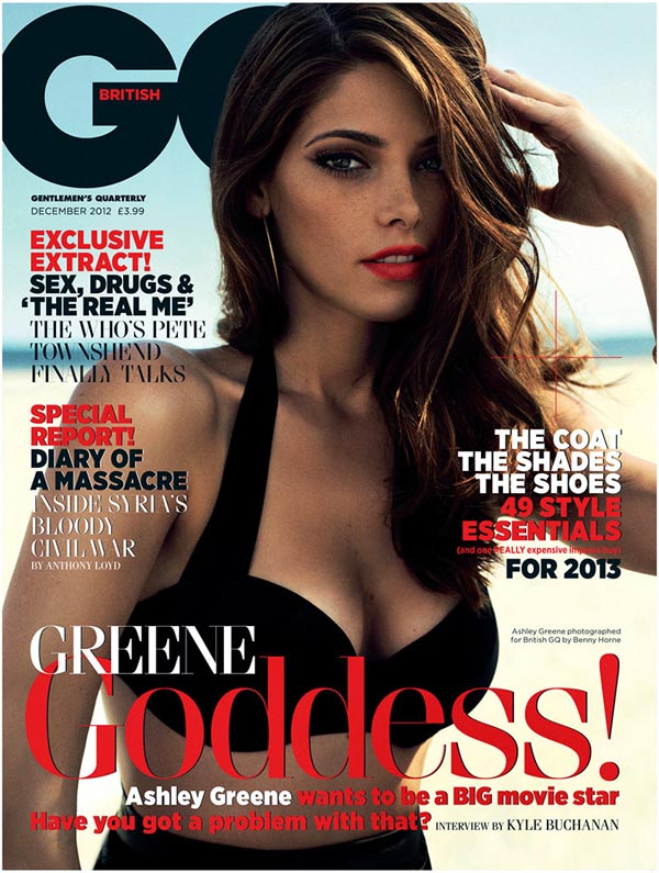 ashley greene8 Ashley Greene X GQ UK