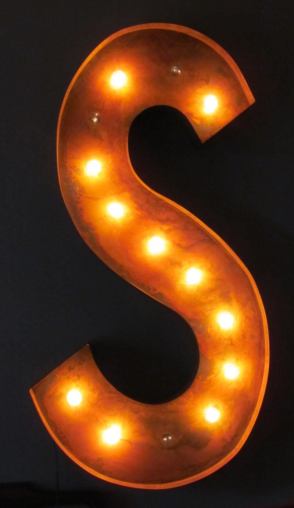 Vintage Marquee Light