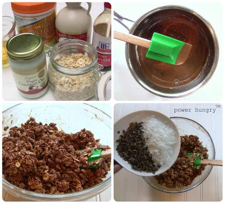 protein granola collage 5