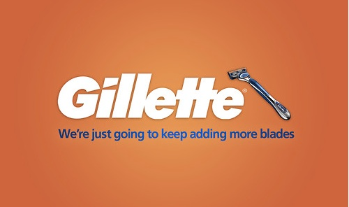 Gillette copy