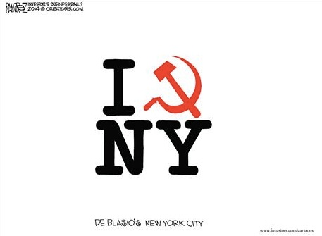 DeBlasio's New York copy