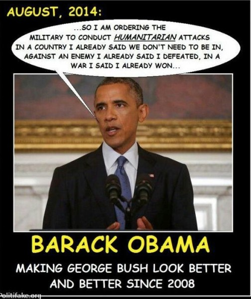 Obama Makes Bush Look Good copy